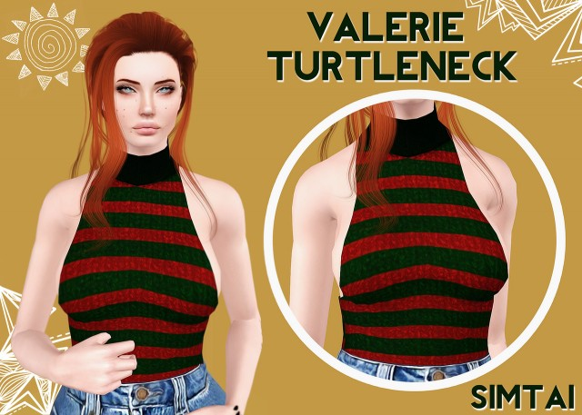 Valerie TurtleNeck by Simtai