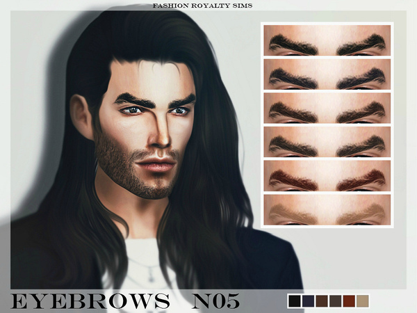 FRS Eyebrows N05 by FashionRoyaltySims