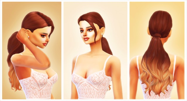 Sweetener Hairstyle by simplifiedsimi