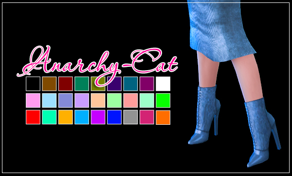 Madlen Gerima Boots by Anarchy-Cat