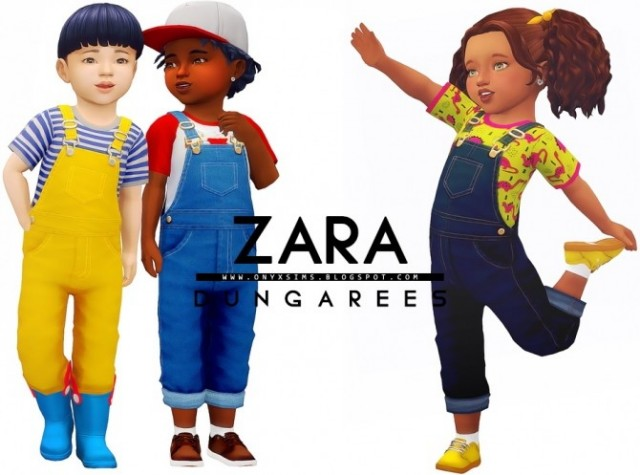 Zara Dungarees by OnyxSims