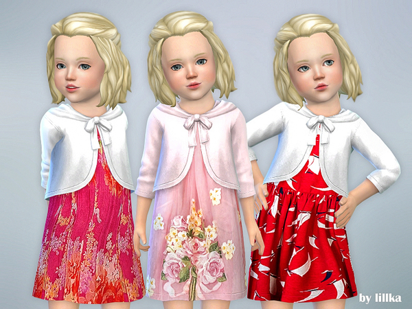 Toddler Dresses Collection P68 by lillka