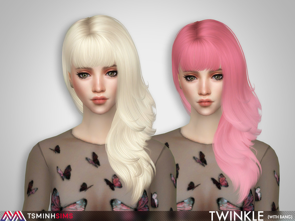 Twinkle ( Hair 65 with bang )
