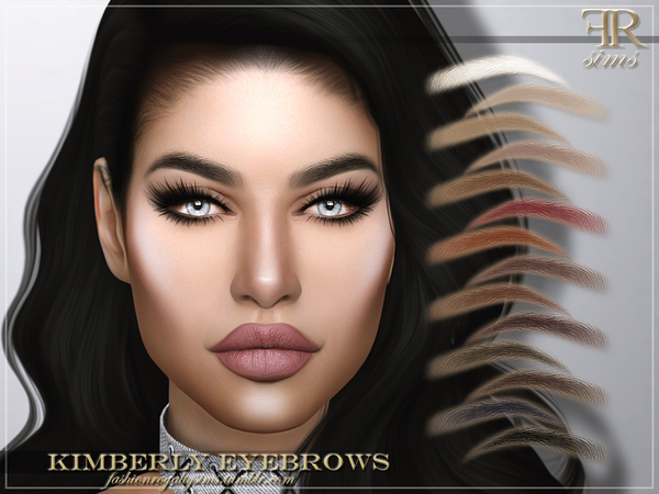 Kimberly Eyebrows by FashionRoyaltySims