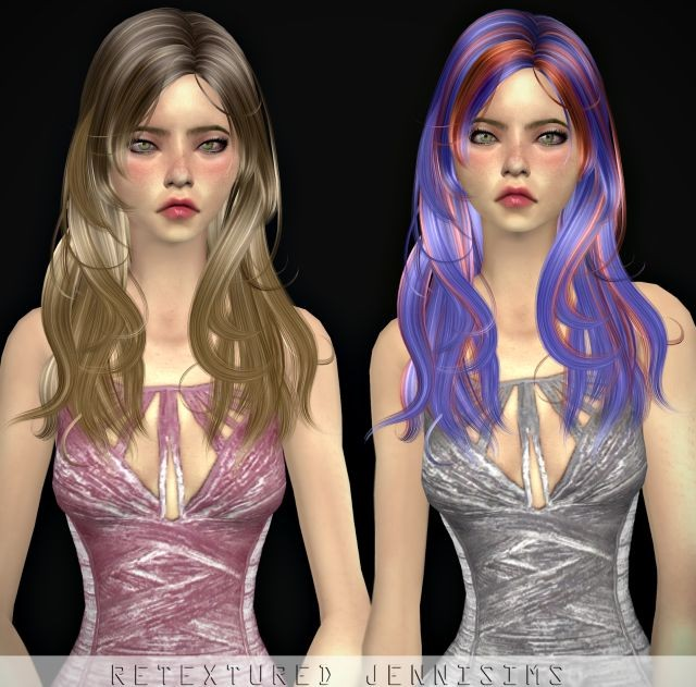 Newsea Jordan Hair retexture by JenniSims