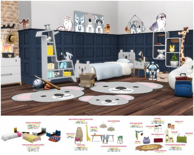 Roarsome Kids Bedroom - 30 New items for toddlers and children by Peacemaker ic