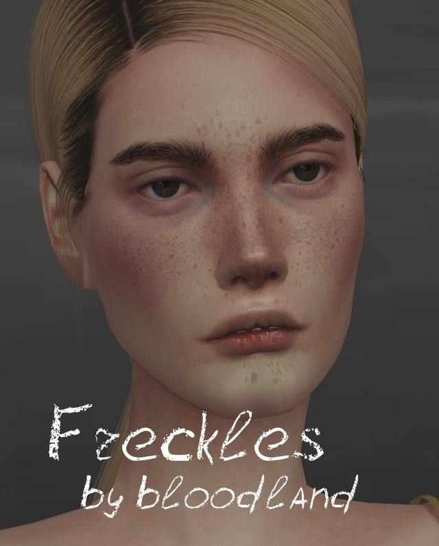 Freckles by bloodland
