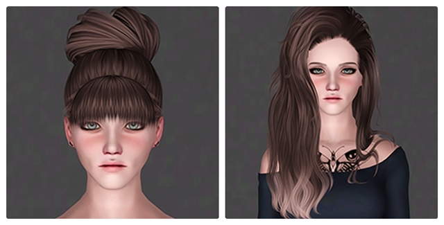 Simplymoonlix - Charlotte & Yuna by IfcaSims
