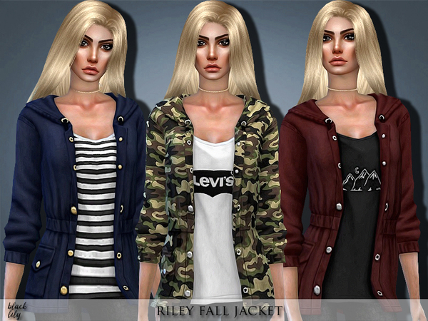 Riley Fall Jacket by Black Lily