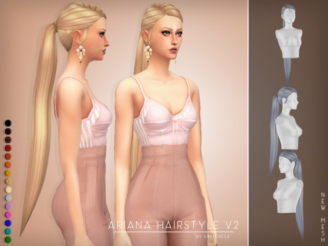Ariana Hairstyle V2 by Enriques