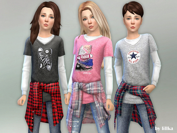 Kids Fall Clothing by lillka