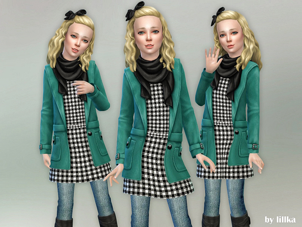 Fall Outfit for Girls 02 by lillka