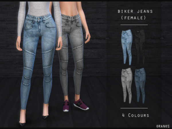 Biker Jeans (Female) by OranosTR