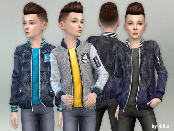 Designer Jacket for Children 02 by lillka