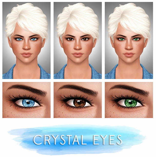 Crystal Eyes by Buckley