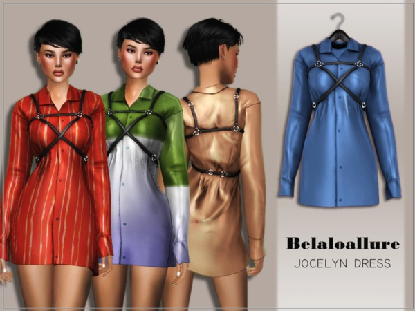 belaloallure_jocelyn dress by belal1997