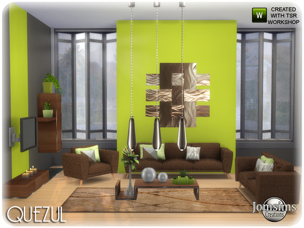 Quezul living room by jomsims