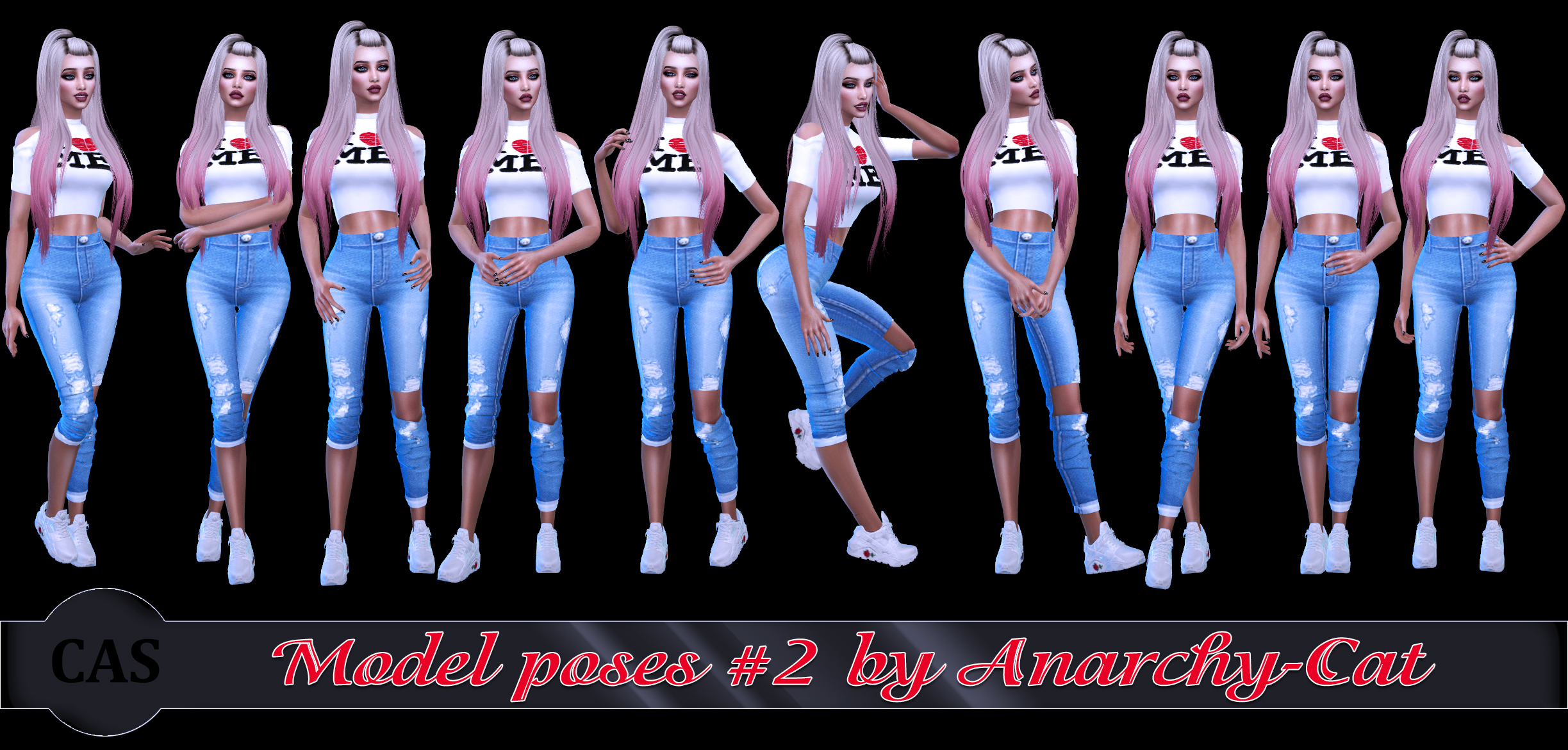 Model poses #2 by Anarchy-Cat