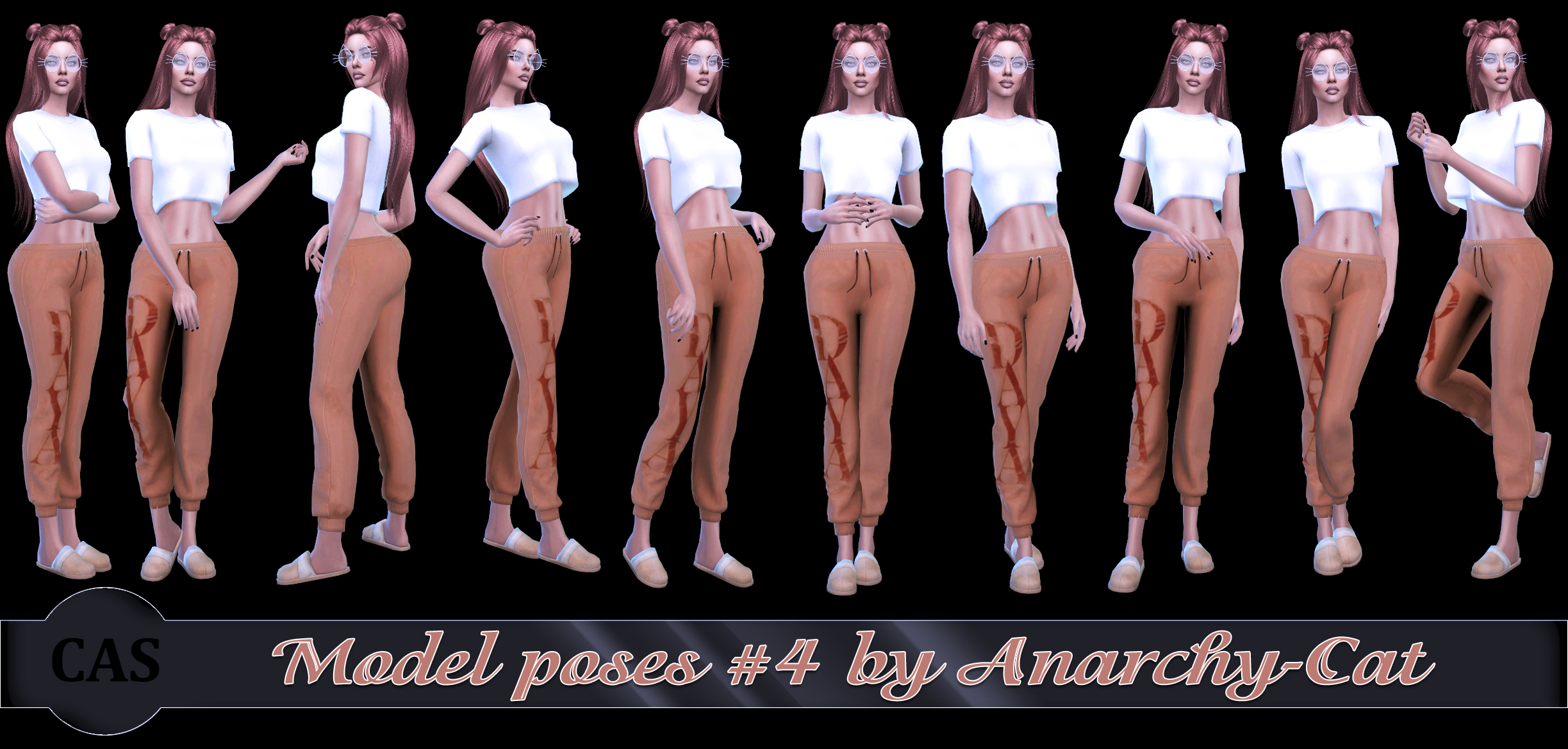 Model poses #4 by Anarchy-Cat