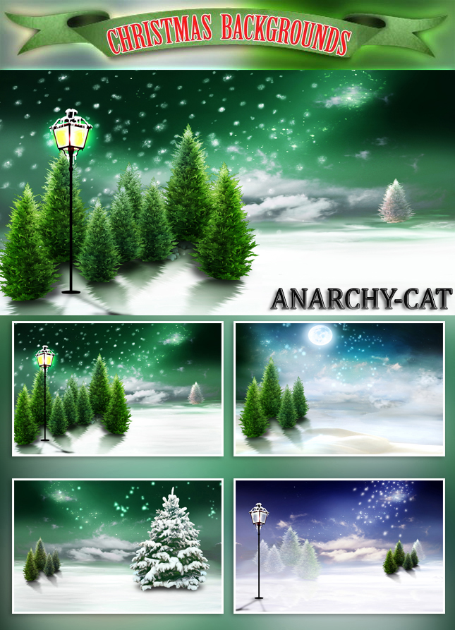 CAS Christmas Background by Anarchy-Cat