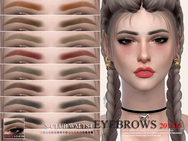 S-Club WM ts4 Eyebrows 201815