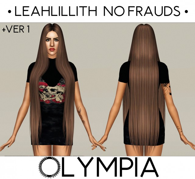 LeahLillith No Frauds + ремешинг by OLYMPIA