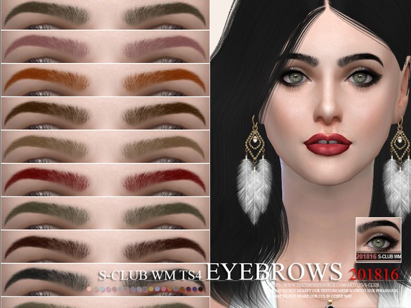 S-Club WM ts4 Eyebrows 201816
