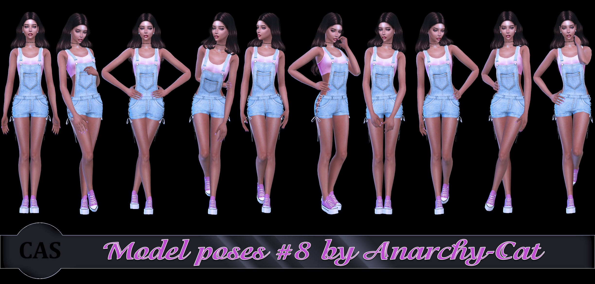 Model poses #8 by Anarchy-Cat