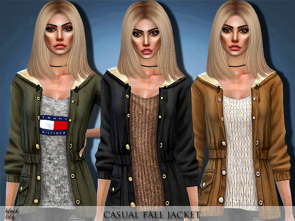 Casual Fall Jacket by Black Lily