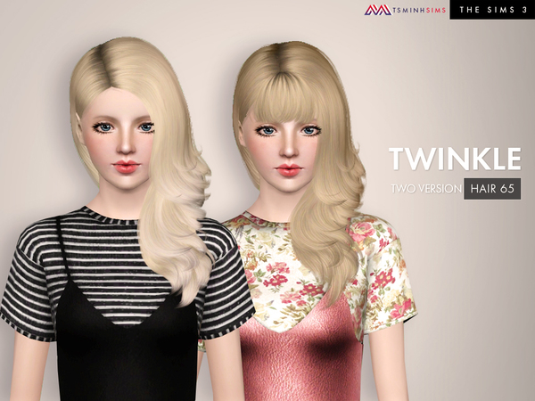 Twinkle ( Hair 65 Set ) by TsminhSims