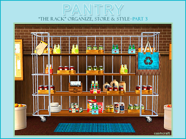 Pantry Part 3 The Rack by cashcraft
