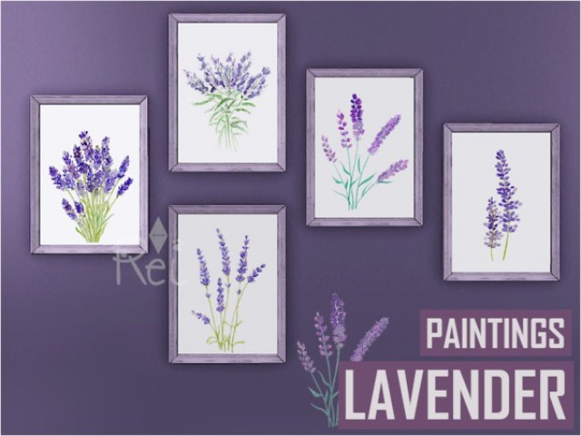 Lavender Paintings by -Rei-
