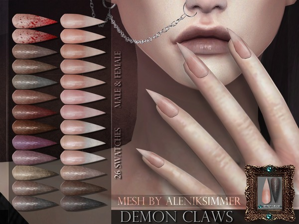 Demon Claws by RemusSirion