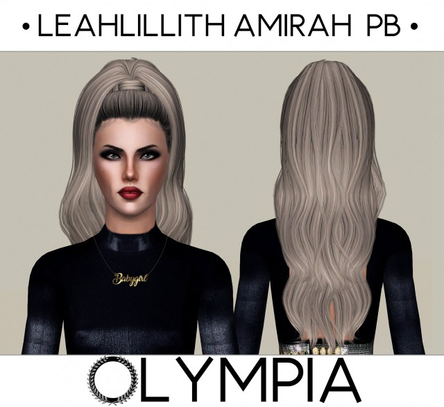LeahLillith Amirah Pushed back by OLYMPIA