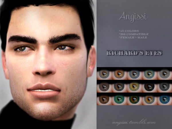 Richard's eyes by ANGISSI