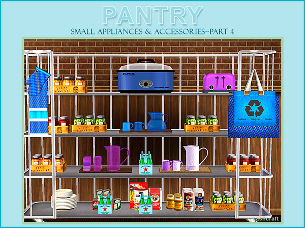 Pantry Part 4 Small Appliances & Accessories by cashcraft