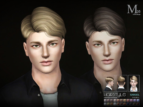 TS3 Hair Samuel N35 by S-Club