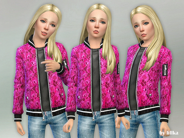 Pink Designer Jacket by lillka