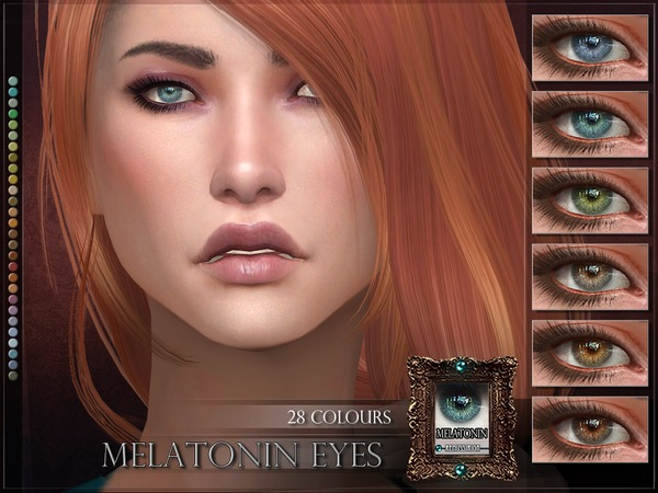 Melatonin Eyes by RemusSirion