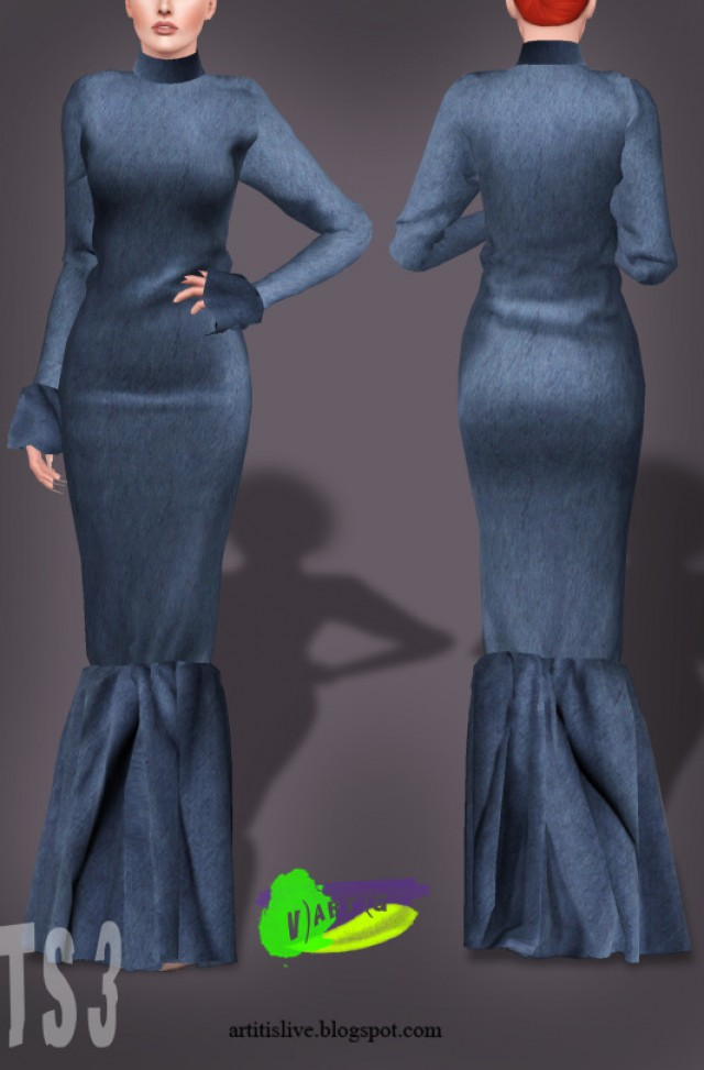 S-S 2018 dress_7.25 by V)ART(G