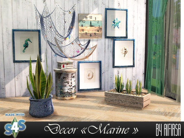 "Decor for the beach house ""Marine"" by Aifirsa"