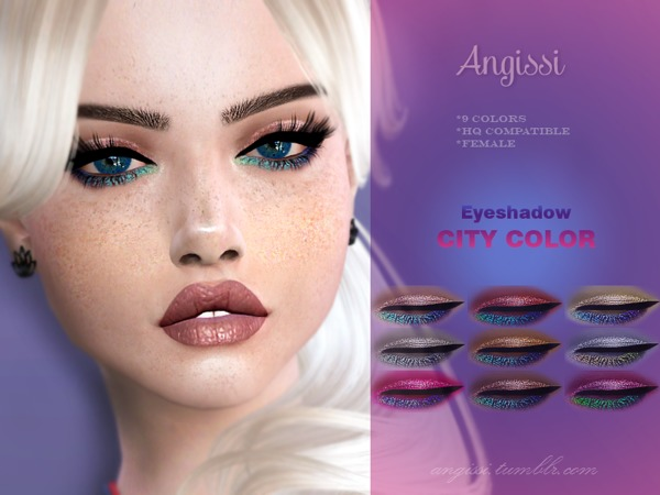 Eyeshadow-CITY COLOR by ANGISSI