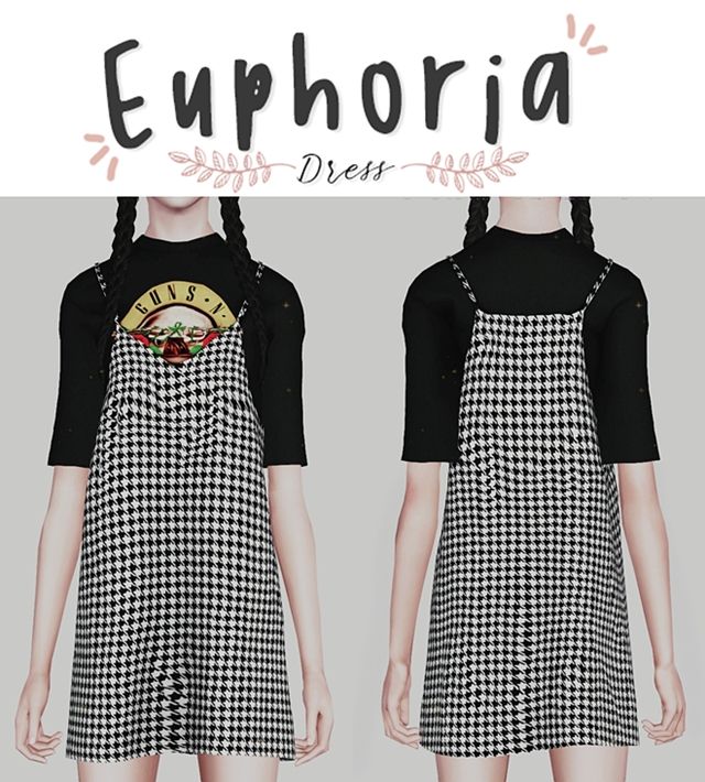 Euphoria Dress by Plbsims
