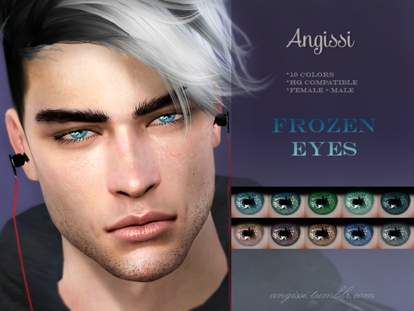 Frozen Eyes by ANGISSI