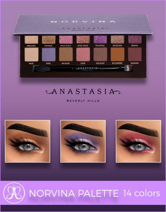 ANASTASIA BEVERLY HILLS NORVINA PALETTE by fifthscreations