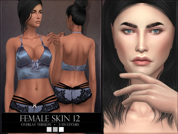 Female skin 12 - OVERLAY by RemusSirion