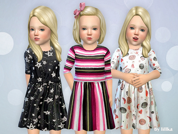 Toddler Dresses Collection P73 by lillka
