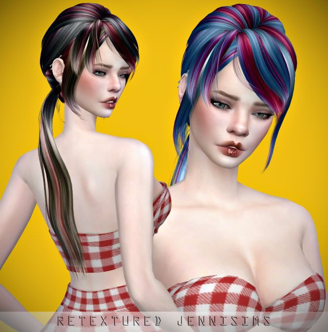 Newsea Lucia Hair retexture by JenniSims