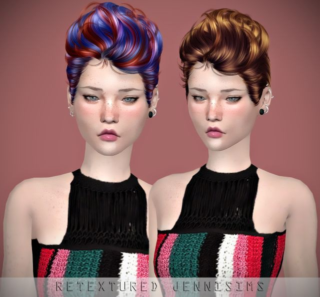 Newsea Ultra Lover Hair retexture by JenniSims