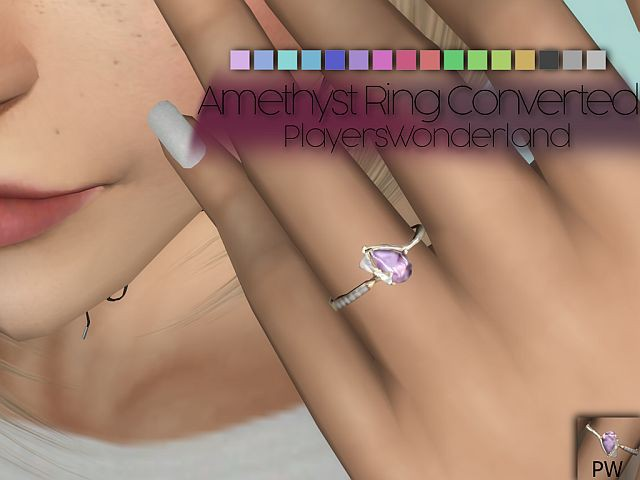 Amethyst Ring Converted by PlayersWonderland